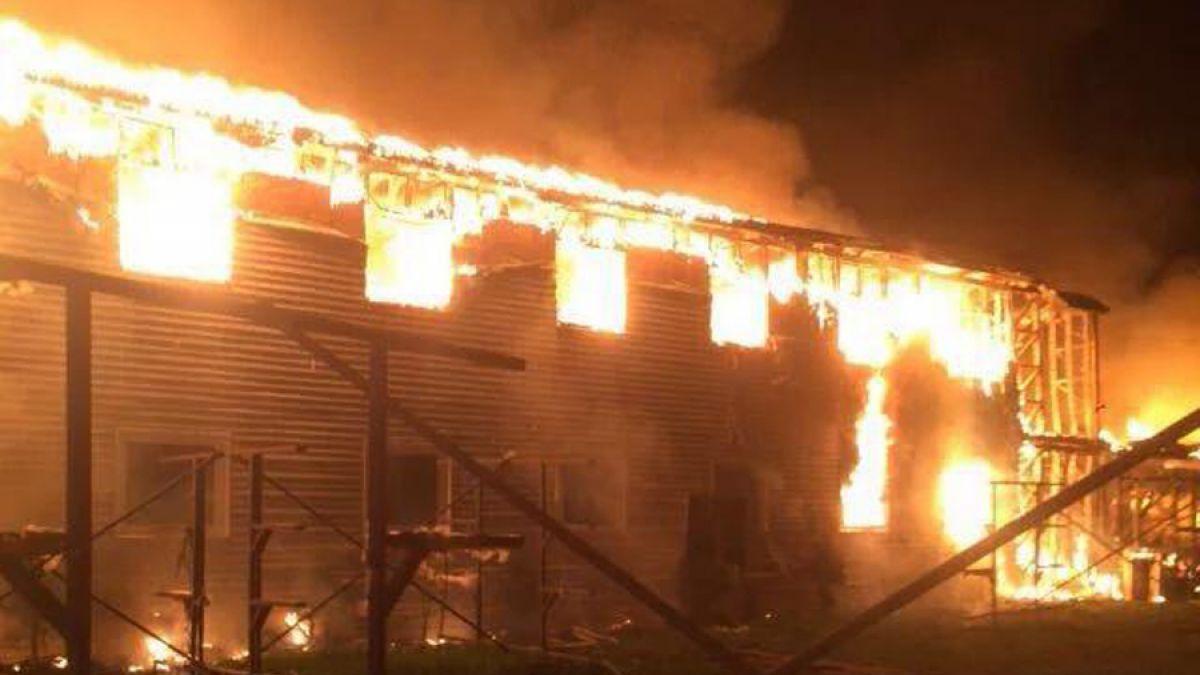Federación de remo estima pérdidas por incendio entre 200 y 250 millones sólo en implementos