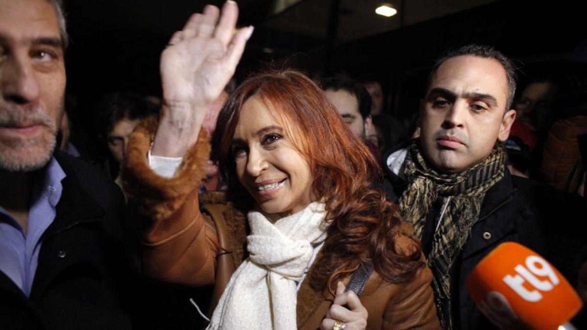 Cristina Fernández regresa a Buenos Aires por causa judicial