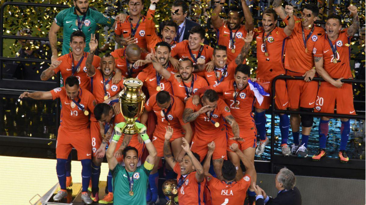 Chile se mantiene en el 5° lugar del ranking FIFA tras ganar la Copa Centenario
