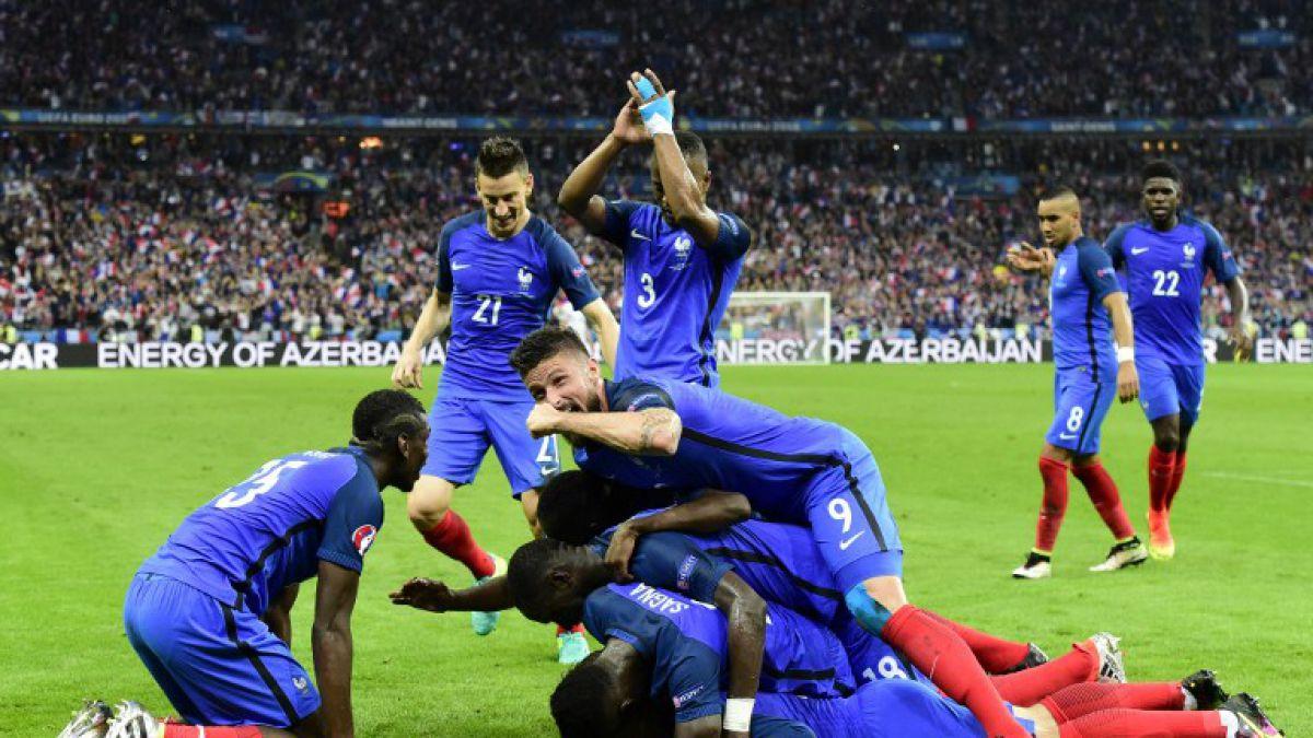 Francia saca chapa de candidato en la Euro tras golear a Islandia