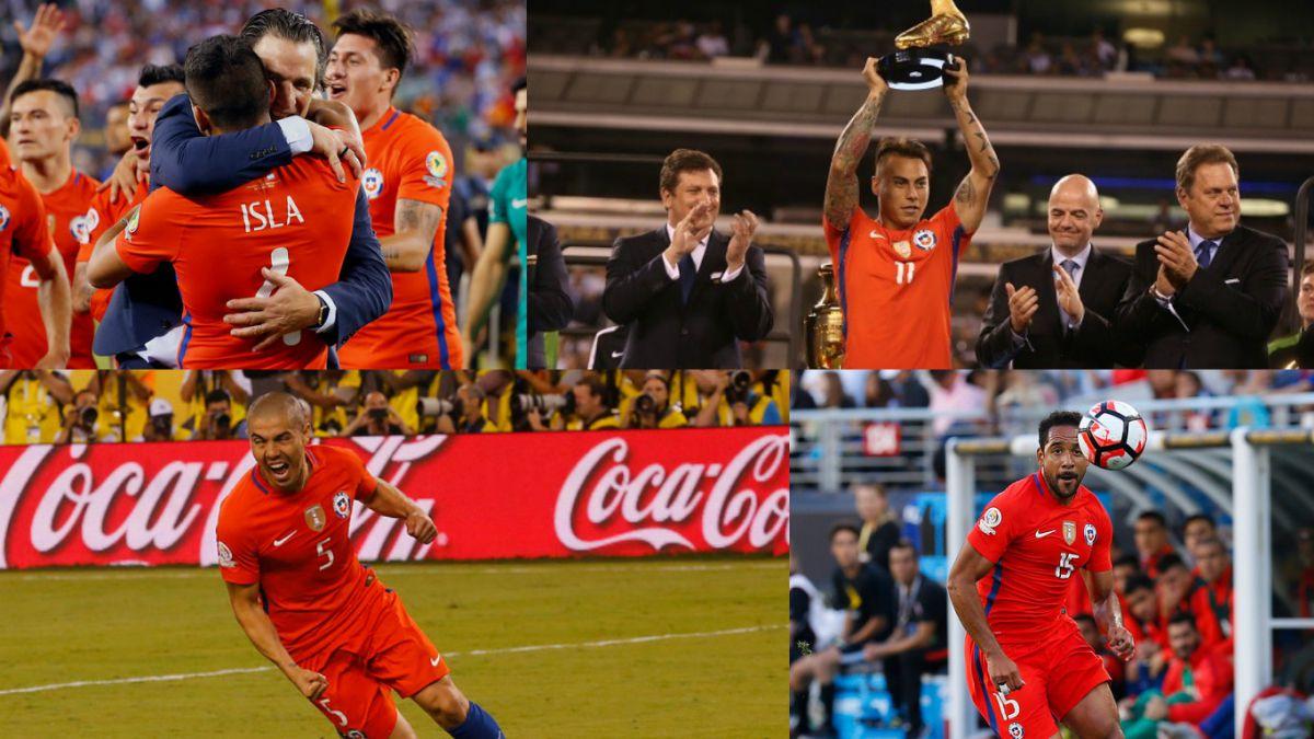 El futuro de los 23 jugadores de Chile campeones de la Copa América Centenario