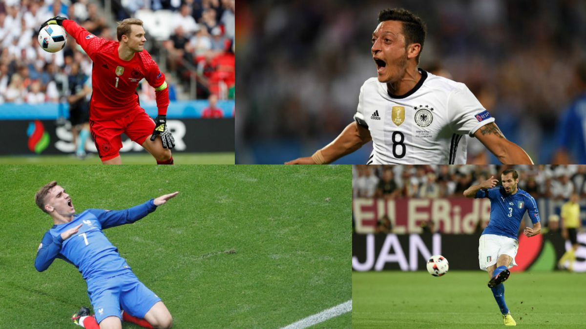 Este es el equipo ideal de los cuartos de final de la Eurocopa 2016