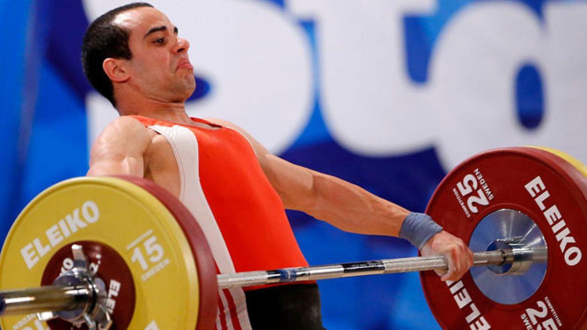 Pesista Julio Acosta representará al Team Chile en los Juegos Olímpicos de Río 2016