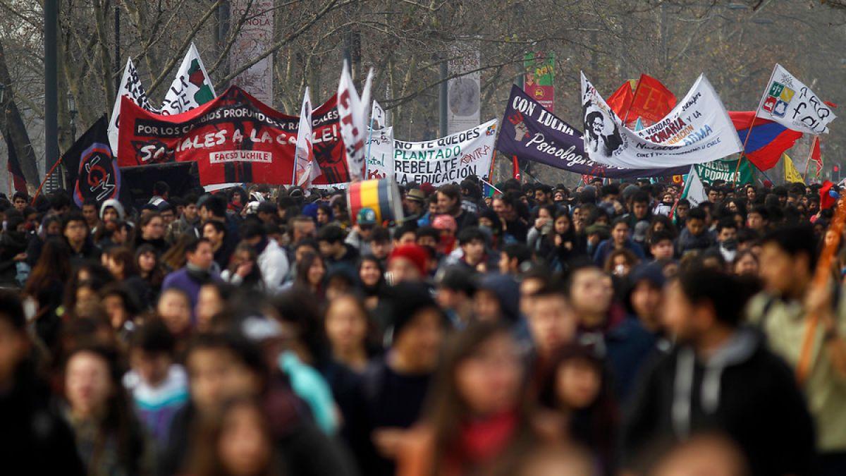 Intendencia autorizó marcha de la Confech para este domingo - Imagen 1