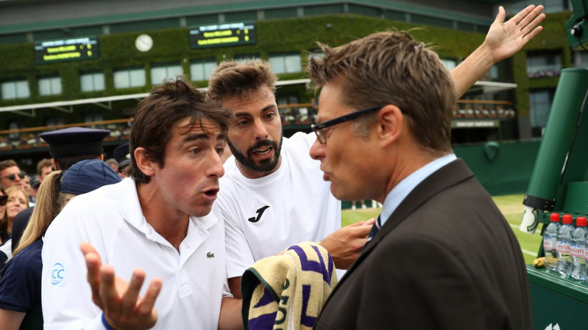 Aseguran que tenista uruguayo habría orinado durante un partido en Wimbledon