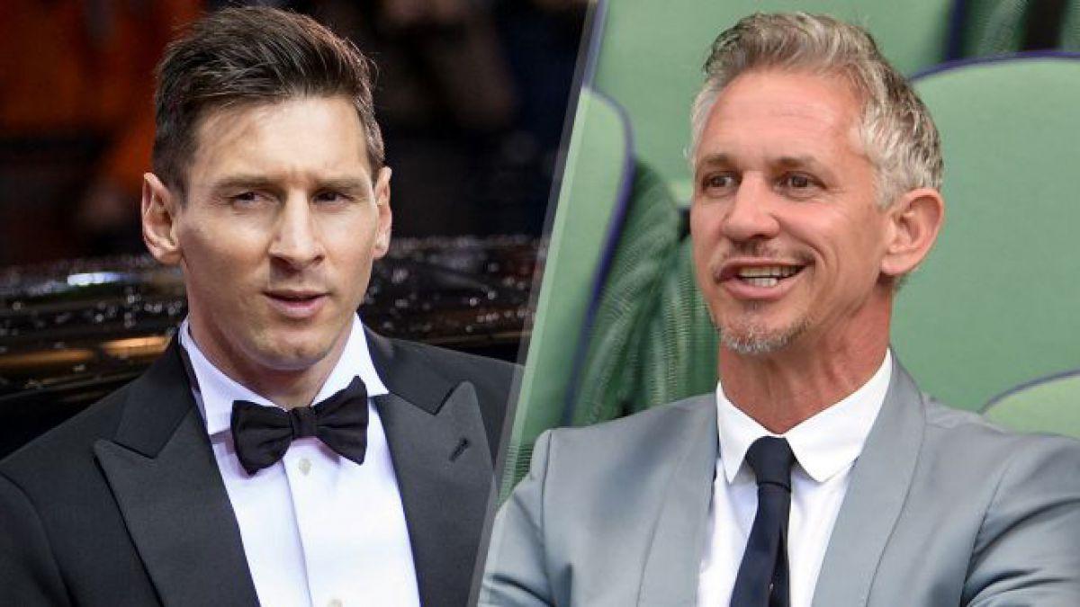 El indignado mensaje en Twitter de Gary Lineker sobre la condena de Lionel Messi en España