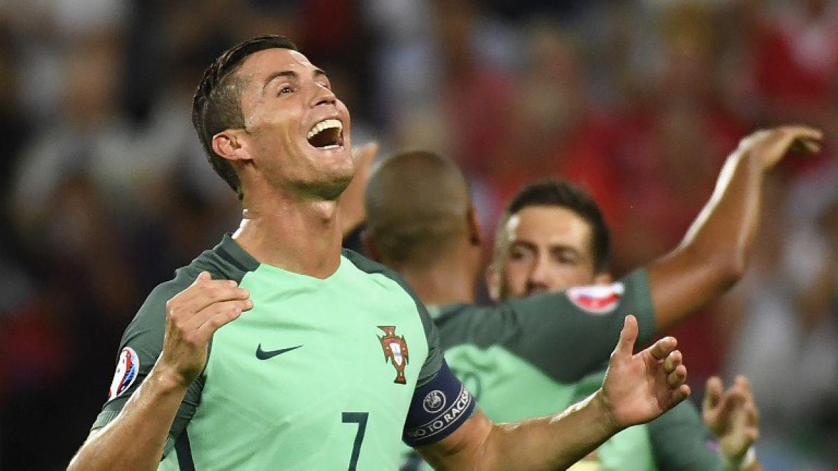 Cristiano Ronaldo iguala a Platini como goleador histórico de la Euro