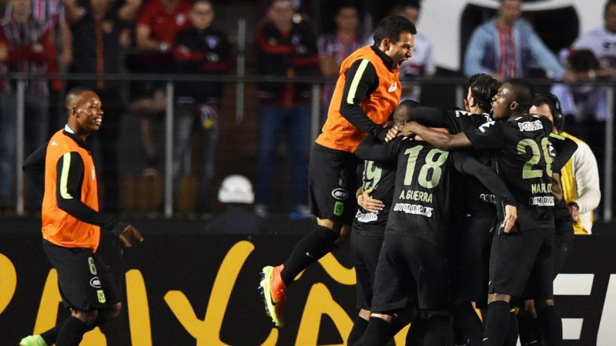 Atlético Nacional quedó a un paso de la final tras vencer a Sao Paulo en el Morumbí