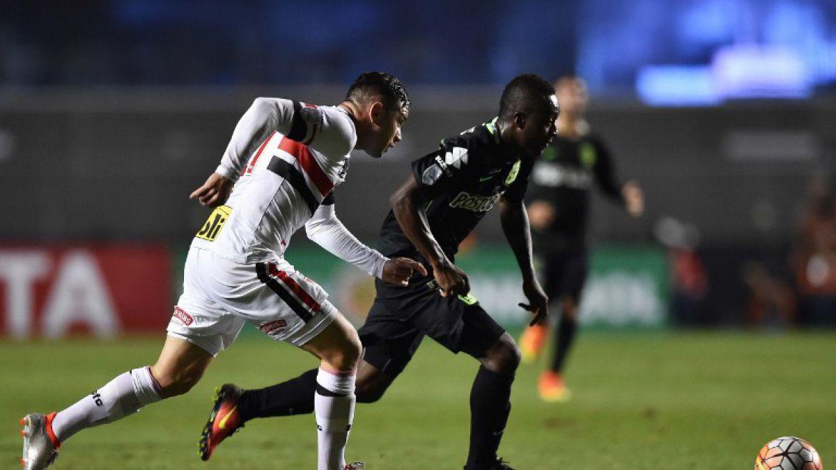 Copa Libertadores: Sao Paulo de Mena busca remontar ante Atlético Nacional