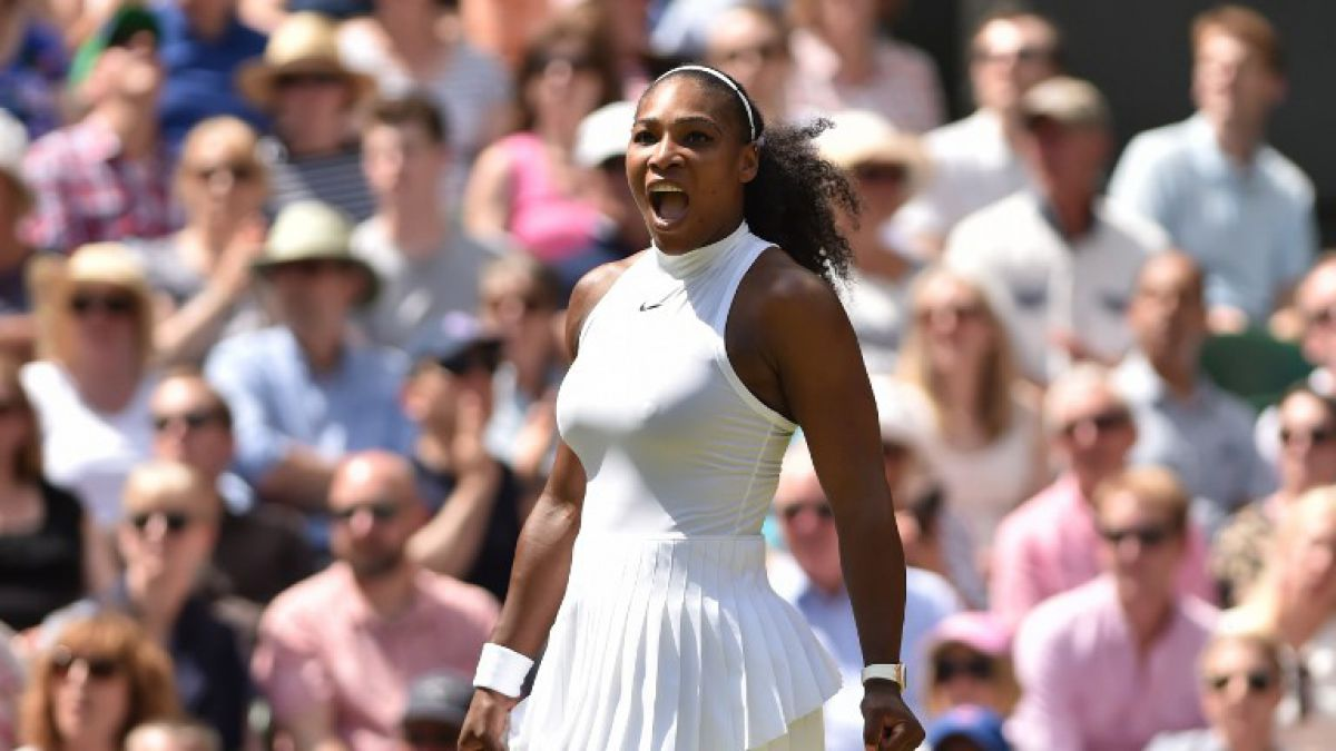 Serena Williams gana y espera a su hermana Venus en la final de Wimbledon