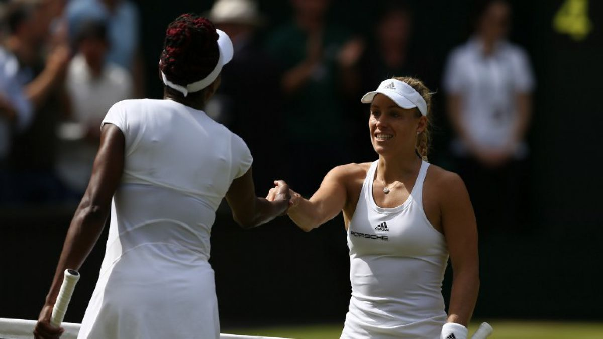 No habrá final de hermanas Williams: alemana Kerber gana y va por título en Wimbledon