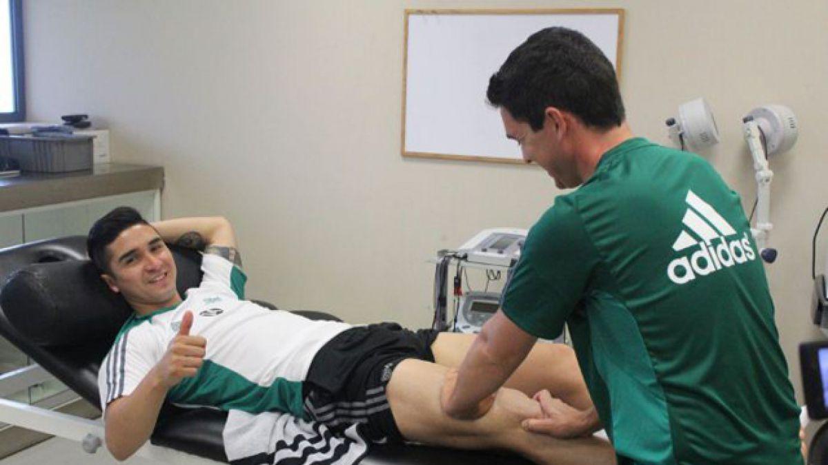 Felipe Gutiérrez comienza recuperación de su rodilla derecha en Real Betis