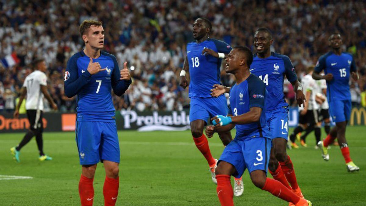 Francia avanza a la final de la Euro tras vencer con autoridad a Alemania