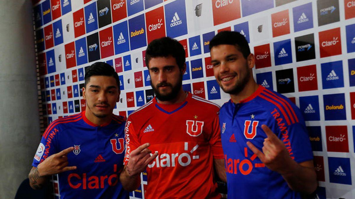 La U presenta a tres nuevos refuerzos para afrontar el Torneo de Apertura