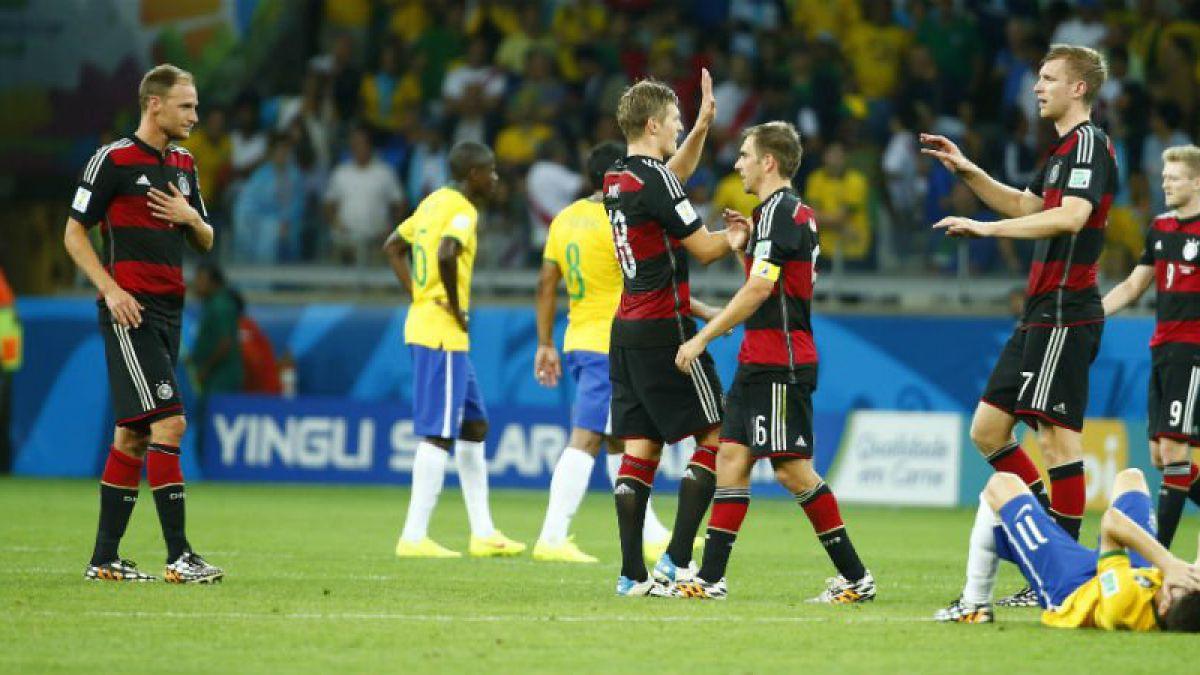 [VIDEO] Hoy se cumplen dos años del triunfo de Alemania por 7-1 ante Brasil