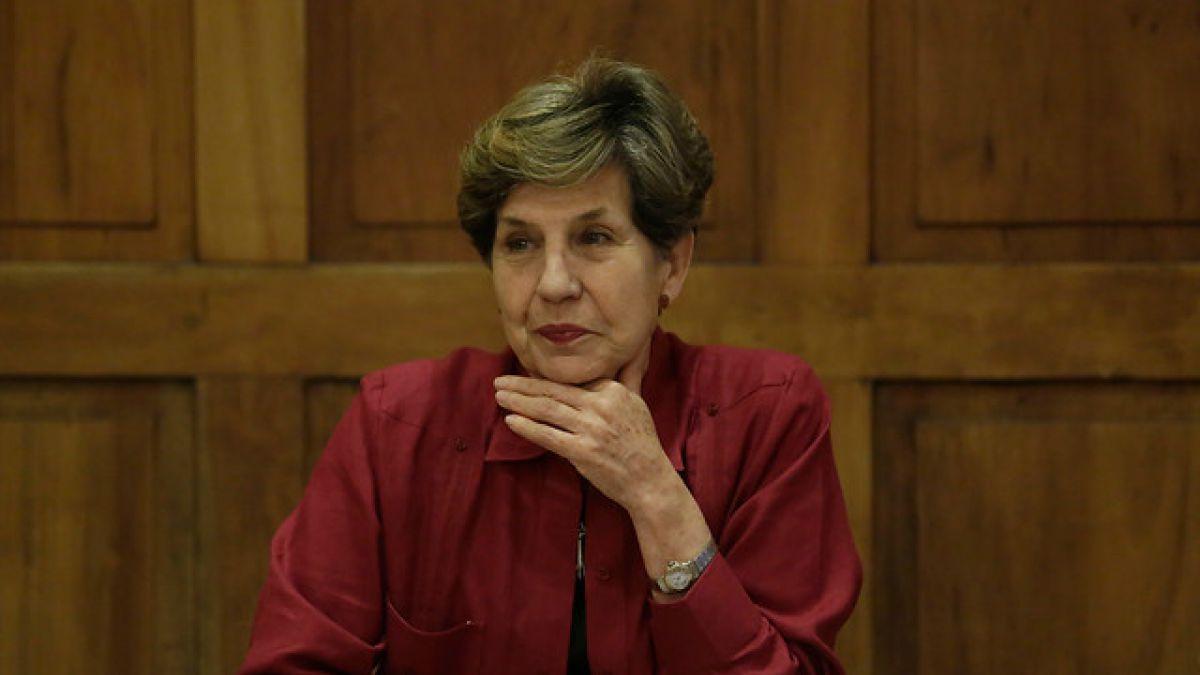 Isabel Allende: Estoy dispuesta a ser la candidata presidencial del PS a primarias