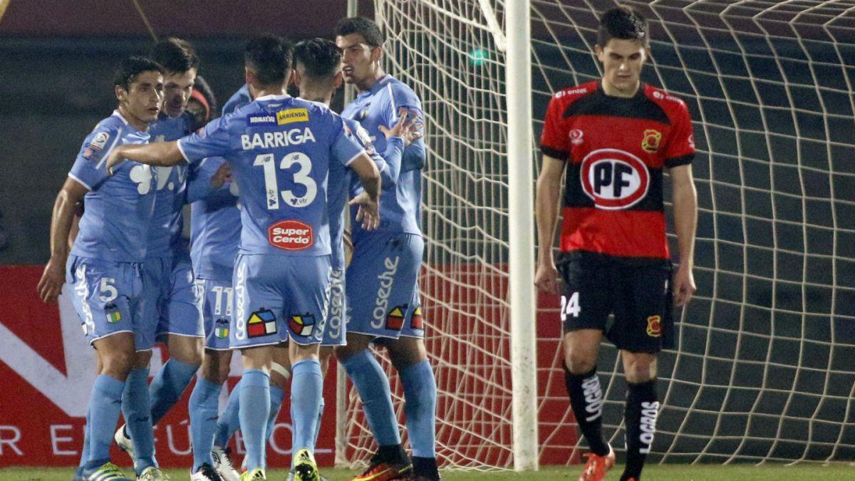 OHiggins derrota a Rangers en Talca en su debut en la Copa Chile 2016
