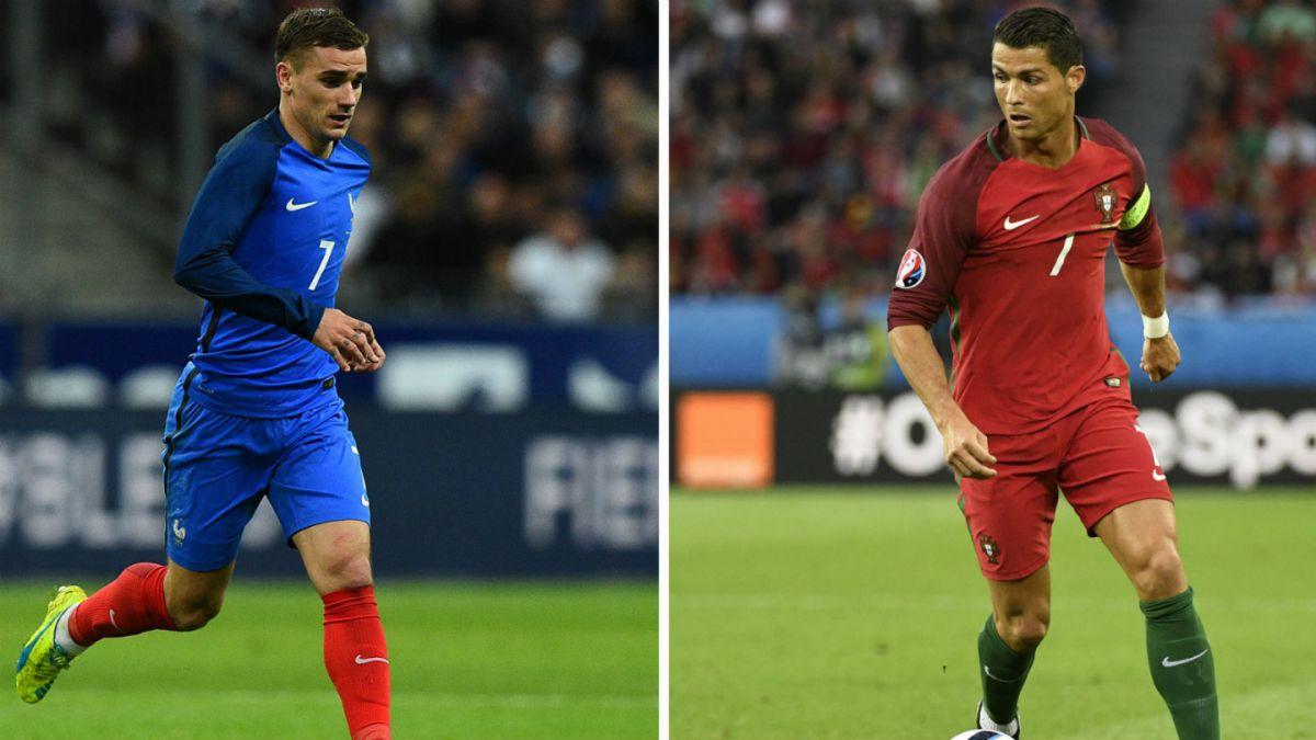 Francia y Portugal se enfrentan buscando la corona de la Eurocopa 2016