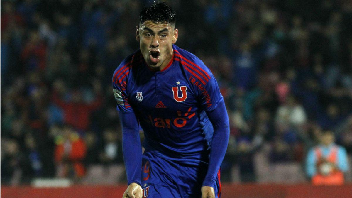 La U rescata igualdad ante Estudiantes de La Plata con dos goles de Felipe Mora