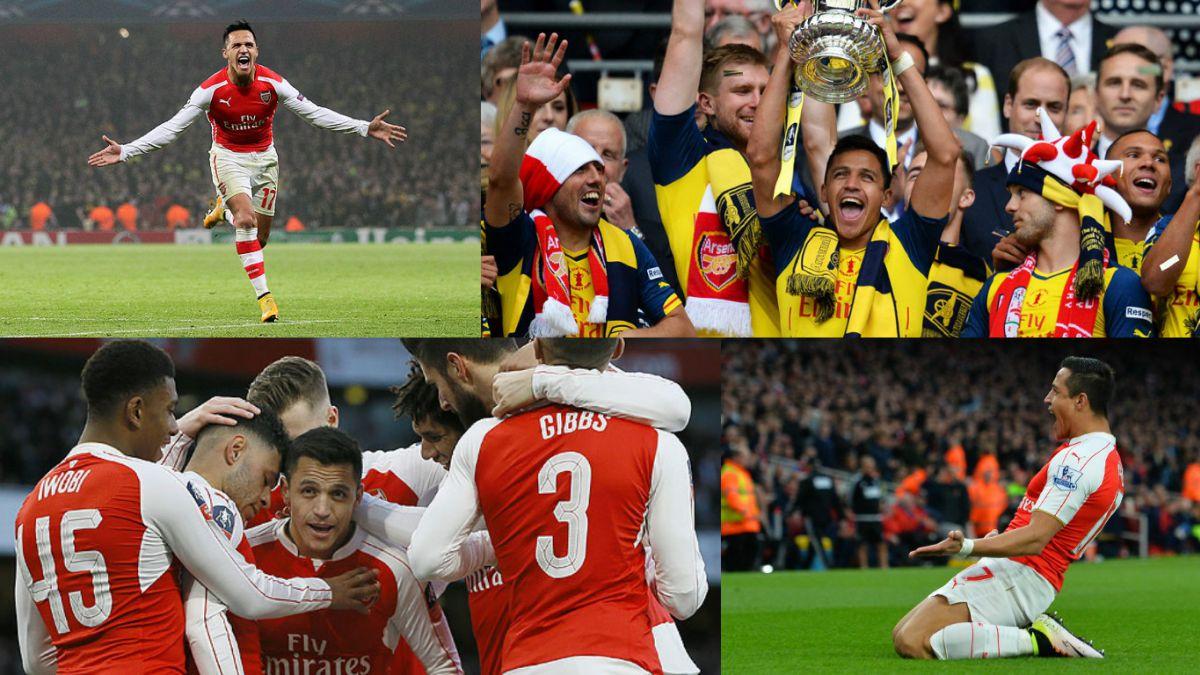 [VIDEO] Arsenal celebra dos años desde el arribo de Alexis Sánchez al club inglés