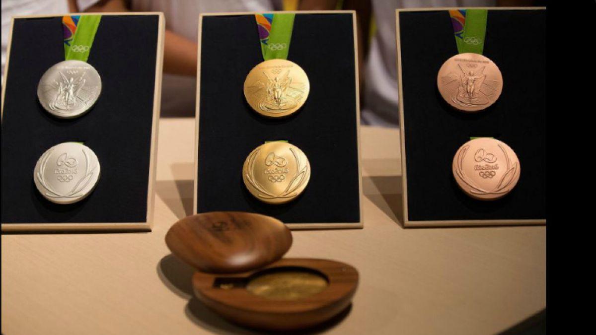 Medallas de JJ.OO de Río 2016 serán fabricadas con materiales ecoamigables