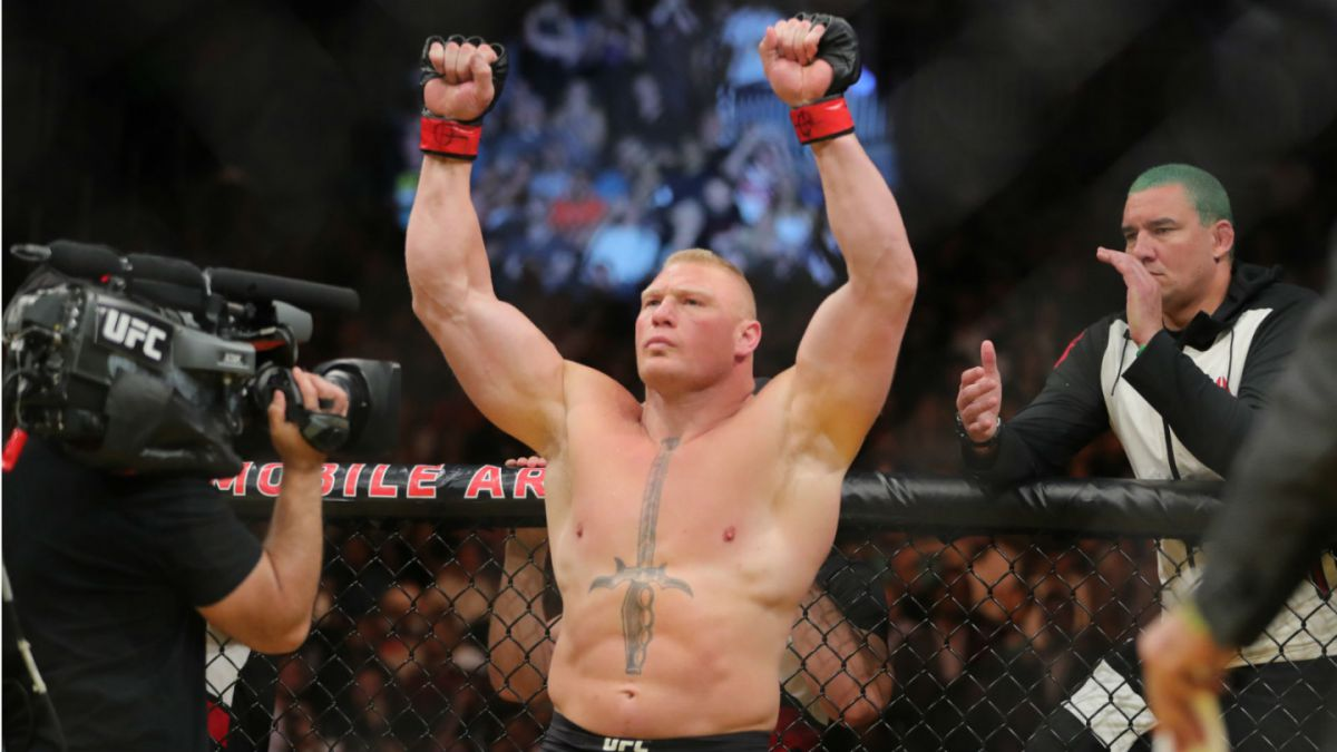 Brock Lesnar y Amanda Nunes triunfan en peleas principales de UFC 200