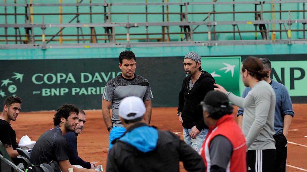 Equipo chileno de Copa Davis prepara serie ante Colombia