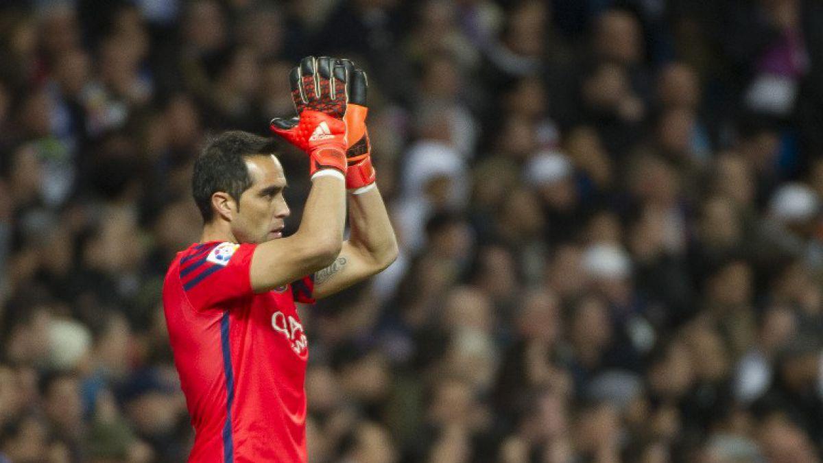 Barcelona le pone precio a Claudio Bravo ante interés del Manchester City