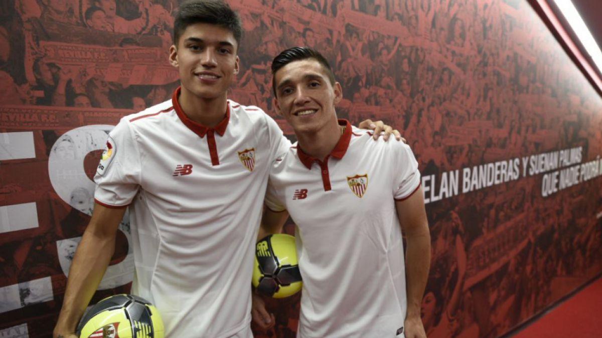Correa en su llegada a Sevilla: Si Sampaoli no hubiera venido, no estaría acá