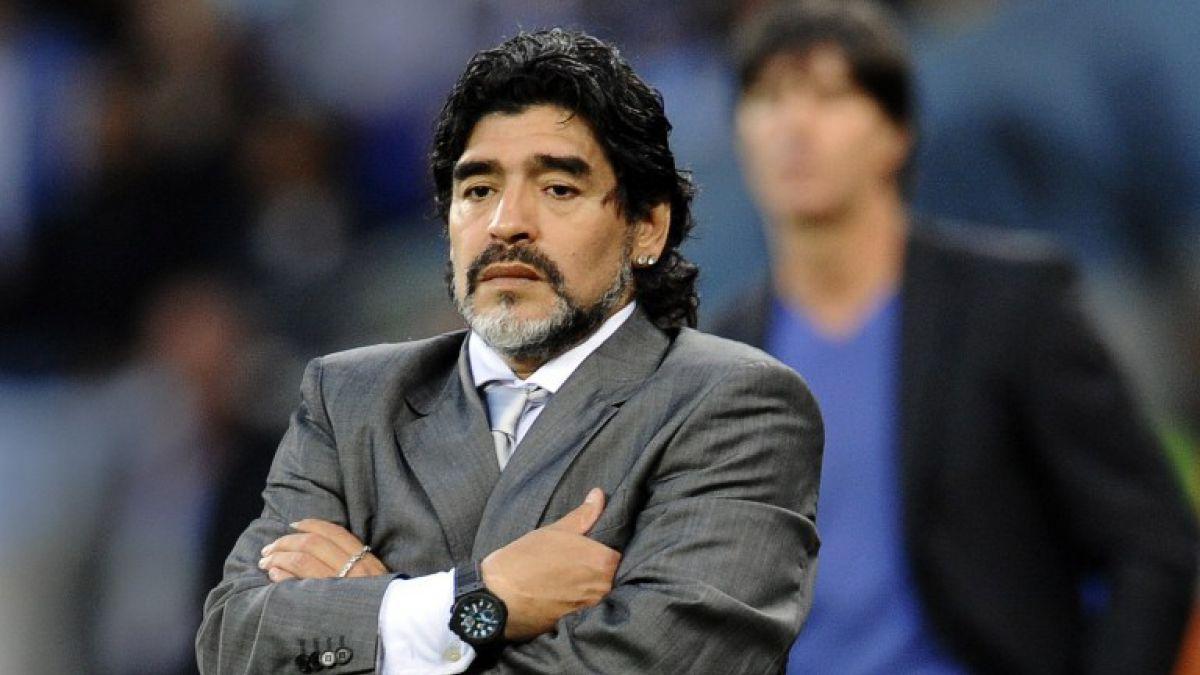 Diego Maradona es alternativa para asumir como DT de Bolivia