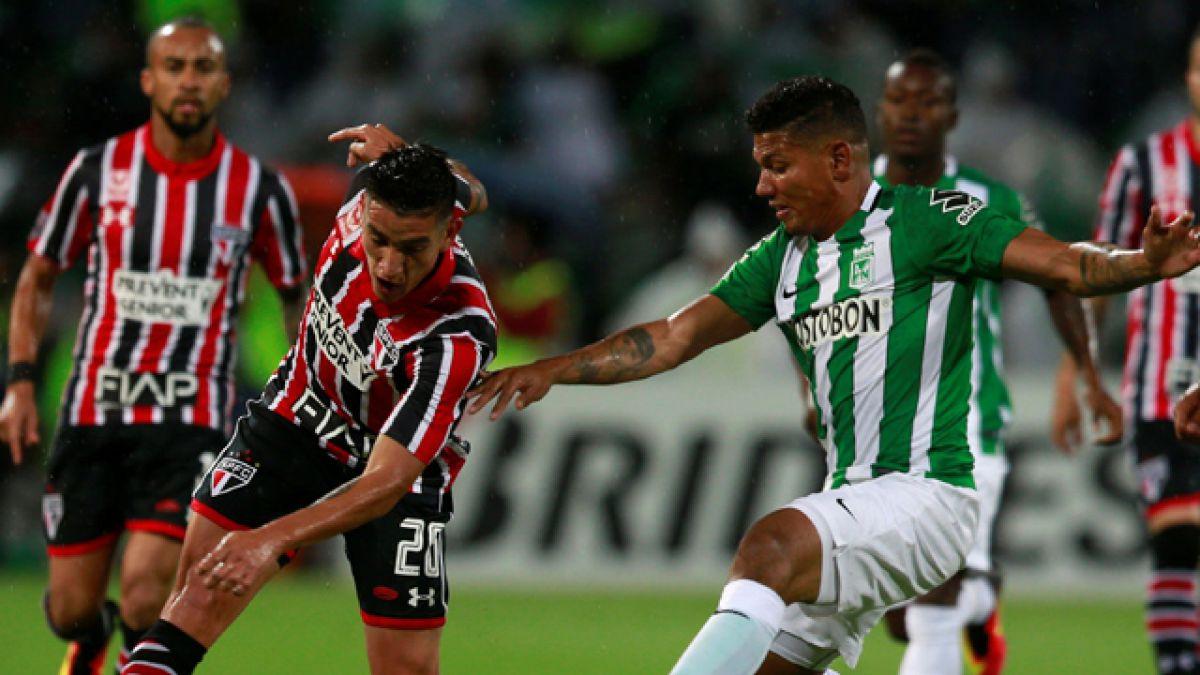 [Minuto a Minuto] A. Nacional y Sao Paulo están igualando en semifinal de vuelta de la Libertadores