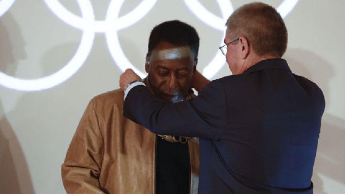 Pelé lanza canción para celebrar los Juegos Olímpicos de Río
