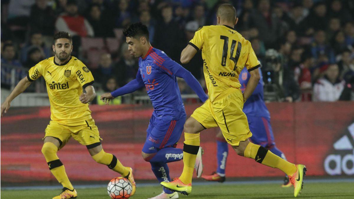 [GOL A GOL] La U vence con claridad a Peñarol en el Estadio Nacional