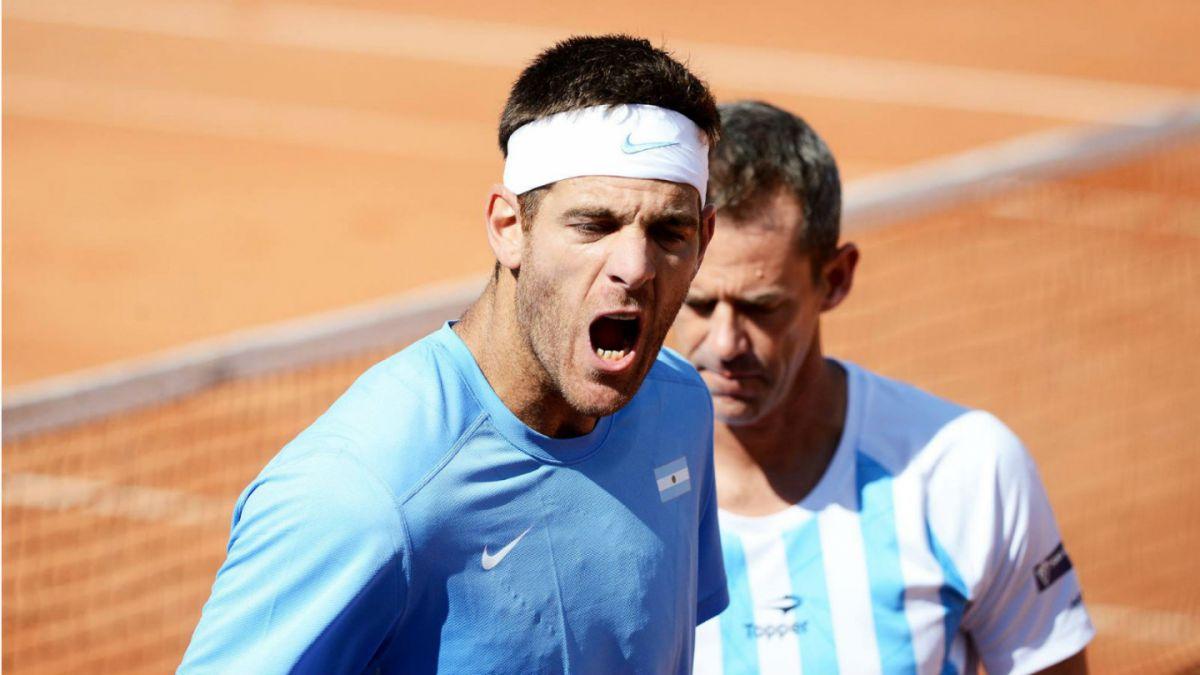 Argentina vence en dobles a Italia y queda a un paso de las semifinales de Copa Davis