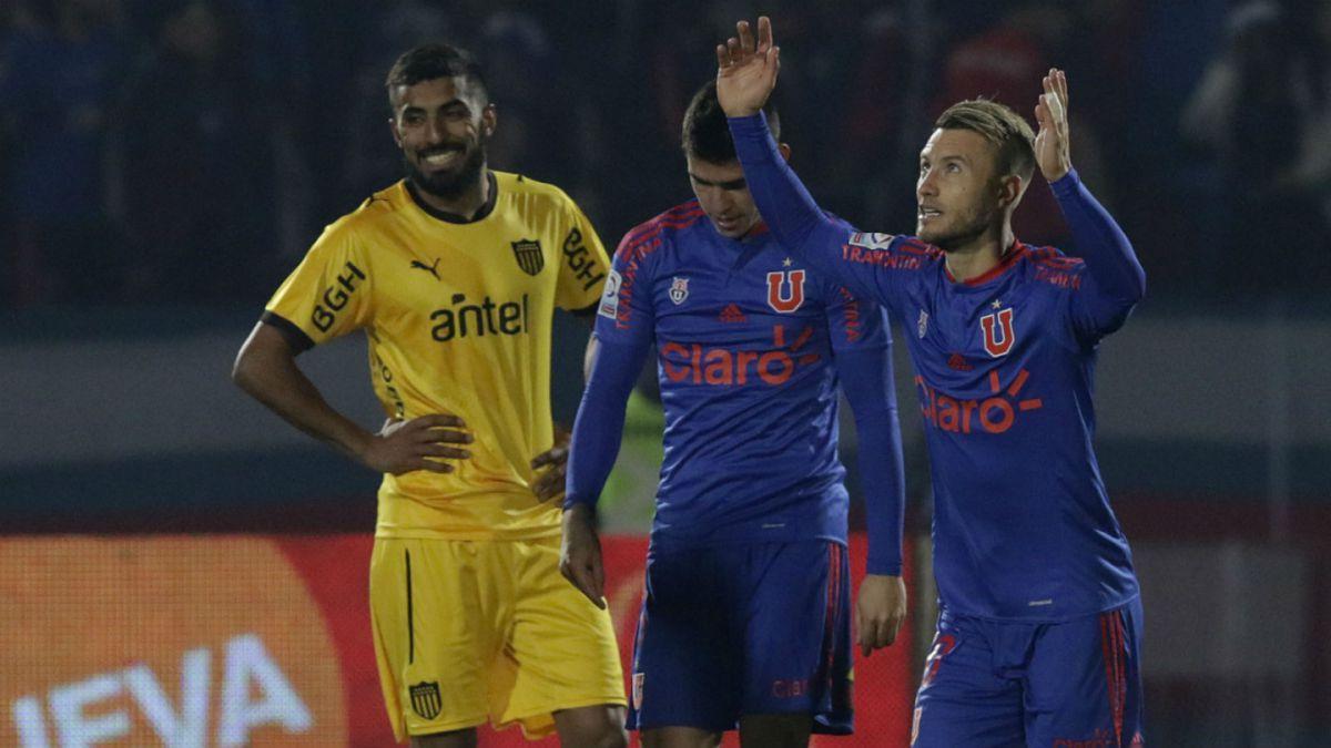 La U consigue una gran victoria ante Peñarol en su último amistoso de pretemporada