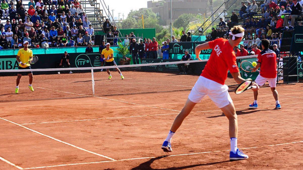 [Juego a Juego] Colombia gana el segundo set y deja 1-1 el dobles ante Chile por Copa Davis