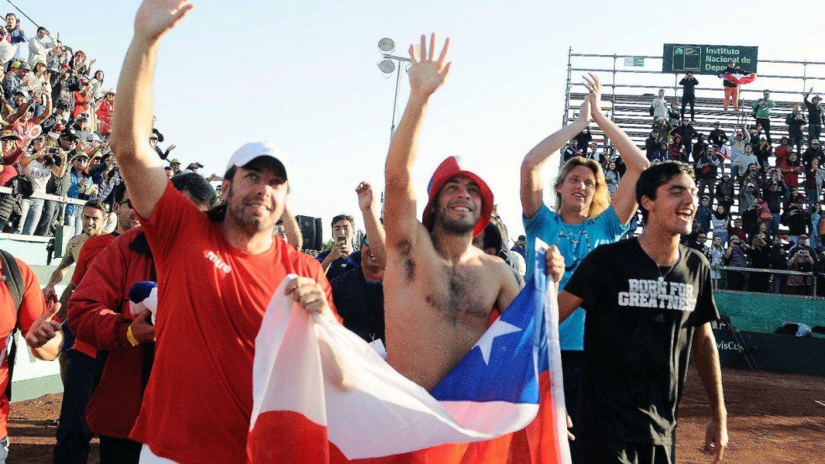 Estos son los posibles rivales de Chile en el repechaje del Grupo Mundial de Copa Davis