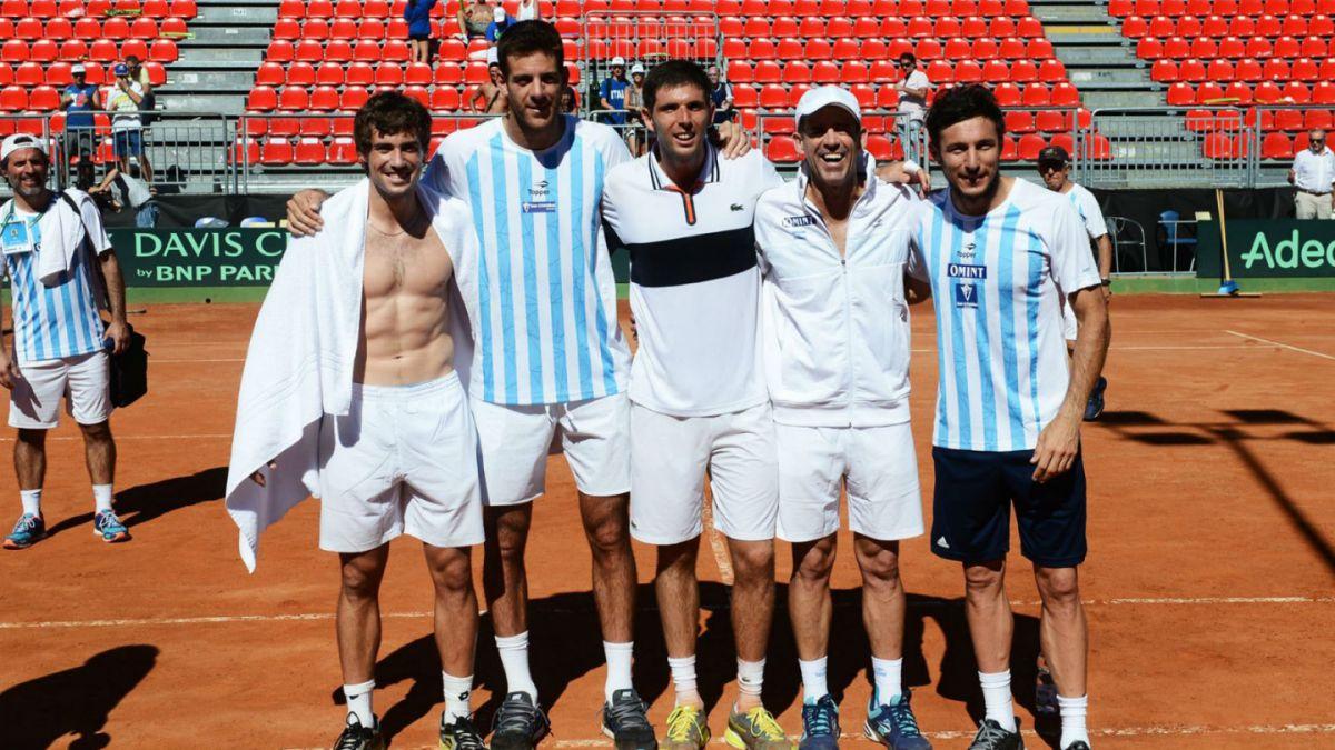 Argentina-Gran Bretaña y Francia-Croacia serán las semifinales del Grupo Mundial de Copa Davis