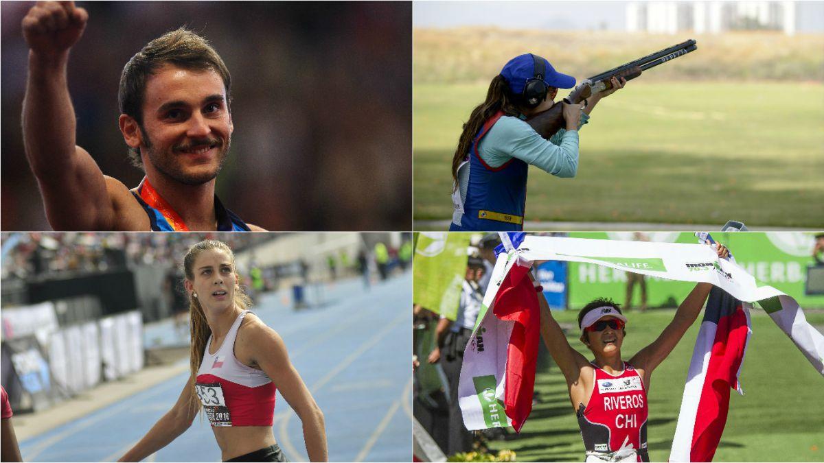Revisa las fechas y horarios en que compiten los deportistas chilenos en Río 2016