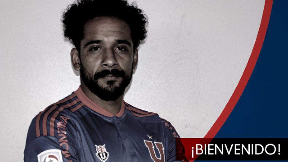 """La """"U"""" oficializa llegada de Beausejour y jugador se unirá de inmediato al plantel"""