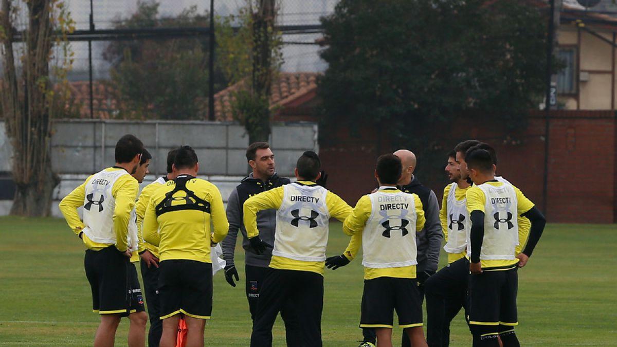 La formación que alineó Pablo Guede en su primera práctica en Colo Colo