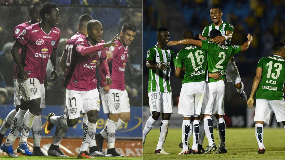Independiente del Valle y Atlético Nacional inician la gran final de la Libertadores