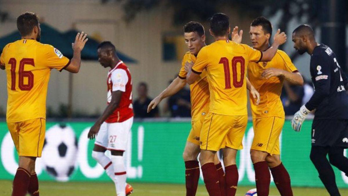 Sevilla de Sampaoli sigue con racha triunfal en gira por Estados Unidos