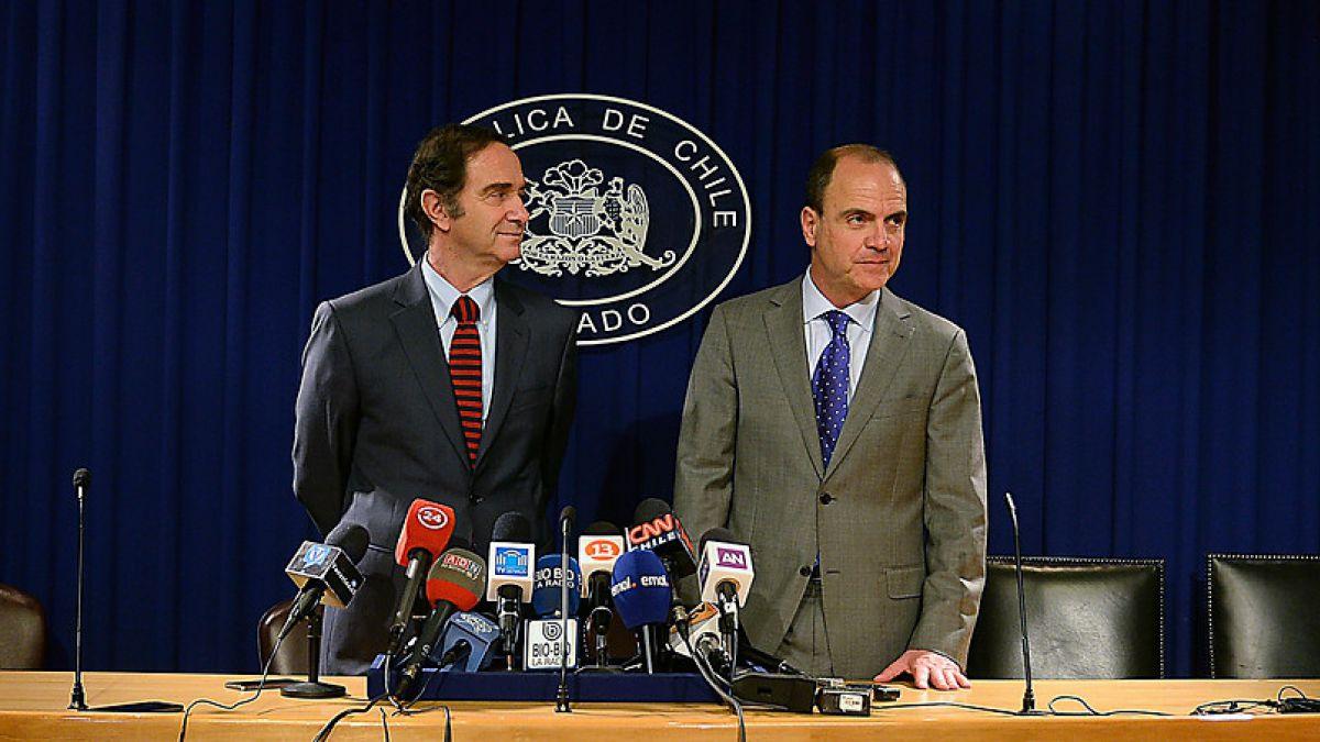 Presidentes de la UDI y RN destacaron gesto de Lavín de dar un paso al costado