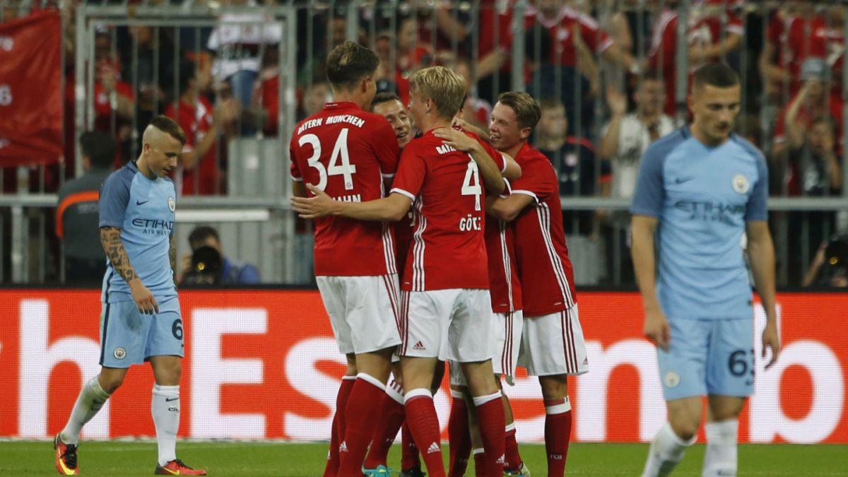 Manchester City cae ante el Bayern Münich en debut de Josep Guardiola