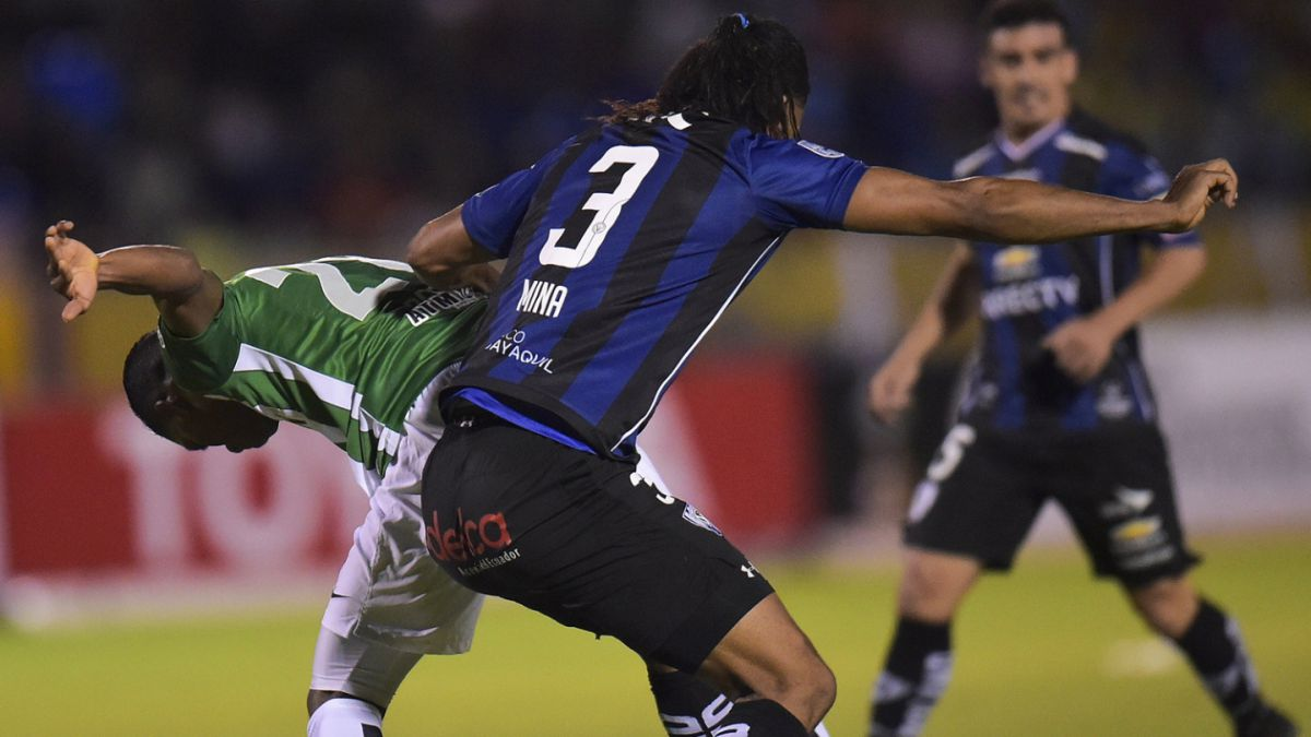 I. del Valle rescató empate en la agonía ante A. Nacional en final de Libertadores
