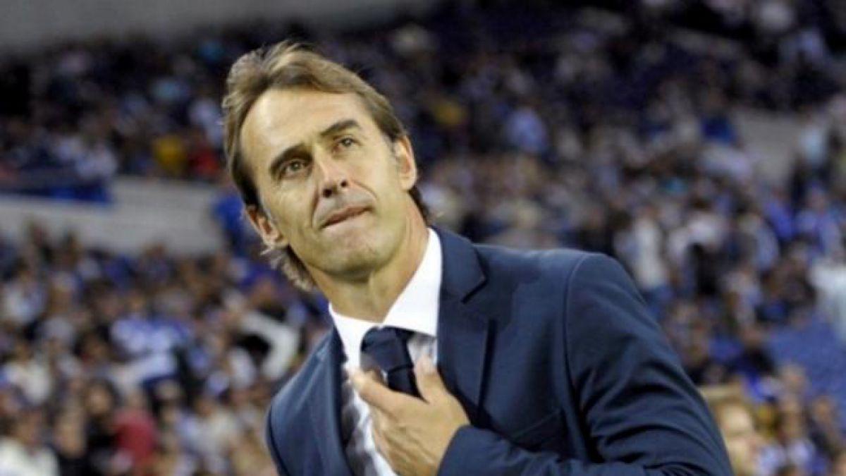 El Real Madrid despide al DT Julen Lopetegui tras aplastante derrota contra el Barcelona de Vidal