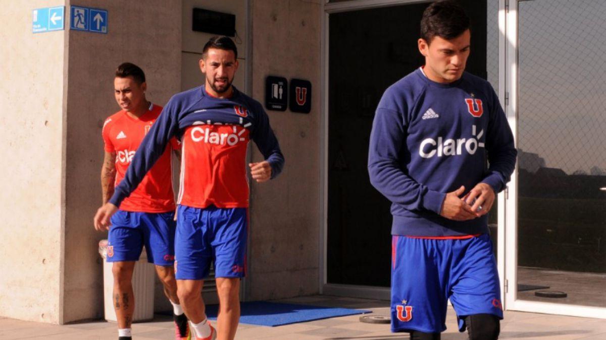 [VIDEO] Eduardo Vargas junto a bicampeones de América entrenan con la U en el CDA