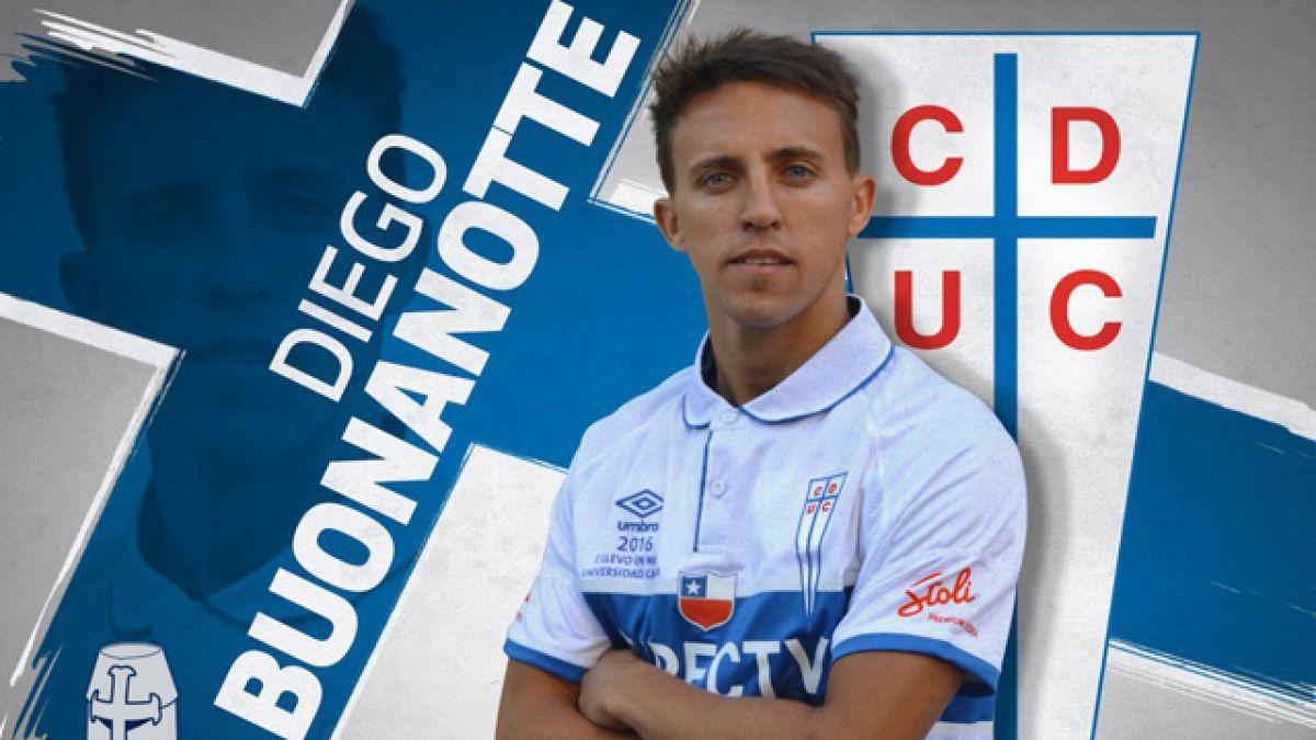 Universidad Católica oficializa llegada de Diego Buonanotte
