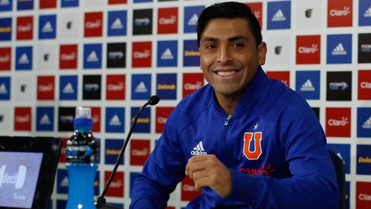 """La """"U"""" analizará este viernes oferta formal de Boca Juniors por Gonzalo Jara"""